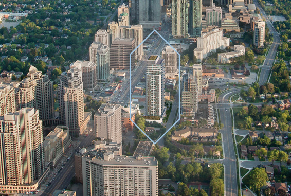 The Diamond Condominiums on Yonge - Suite Views