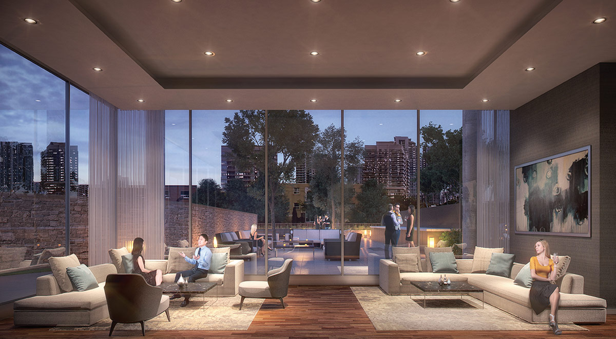 The Diamond Condo on Yonge - Building Amenities